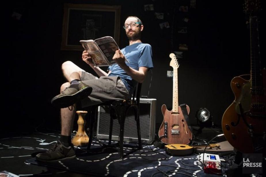 Napoléon voyage se veut un spectacle solo écrit... (Photo: Olivier Pontbriand, La Presse)