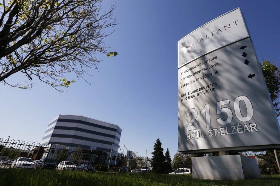Les bureaux de Valeant à Laval.... (PHOTO CHRISTINNE MUSCHI, REUTERS)
