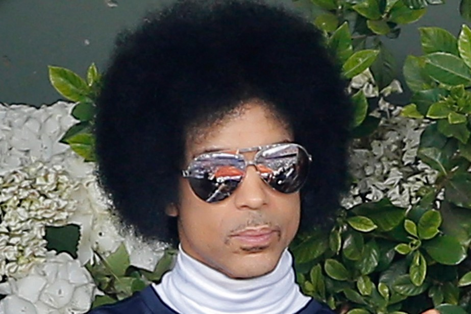 Prince... (Photo Michel Spingler, archives AP)