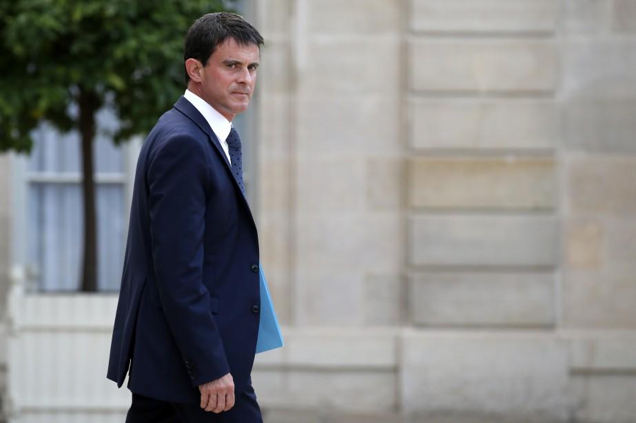 Manuel Valls a été chargé de composer d'ici... (Photo BENOIT TESSIER, Reuters)