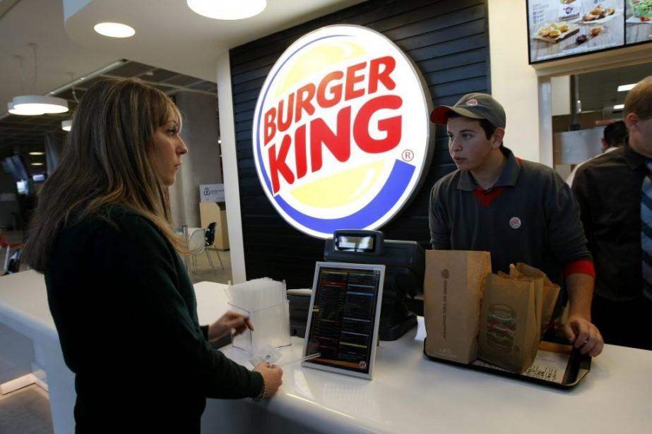 En 2013, 41% des revenus de Burger King... (Photo Claude Paris, Archives AP)