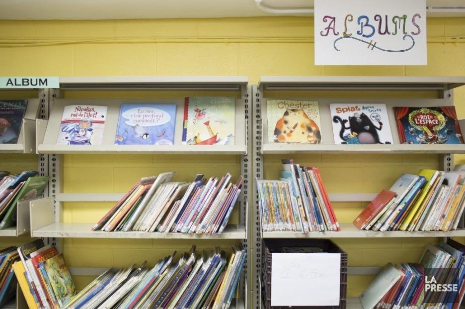 Un bibliothèque d'école primaire à Montréal.... (PHOTO EDOUARD PLANTE-FRECHETTE, ARCHIVES LA PRESSE)