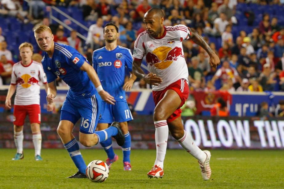Thierry Henry a disputé un autre match inoubliable... (Photo Jim O'Connor, USA Today)