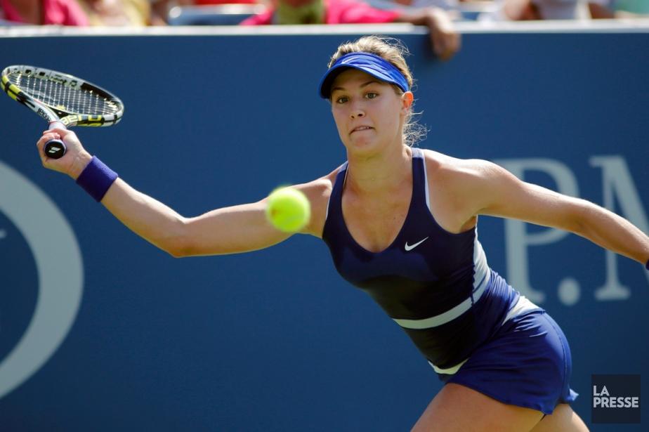 Eugenie Bouchard a facilement remporté son match de... (Photo Eduardo Munoz, Reuters)