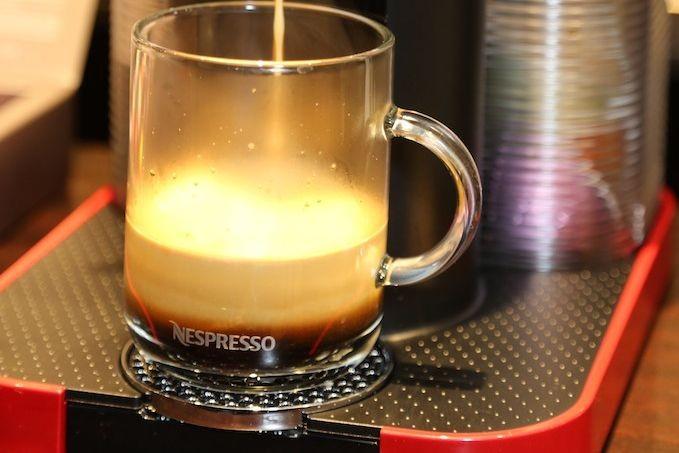 Nespresso, filiale du géant suisse de l'agroalimentaire Nestlé,... (Photo Nespresso)
