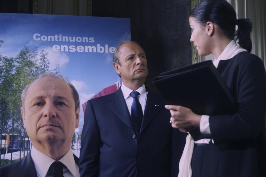 Pour éviter la chute, un président (Patric Braoudé)... (Photo: fournie par le FFM)