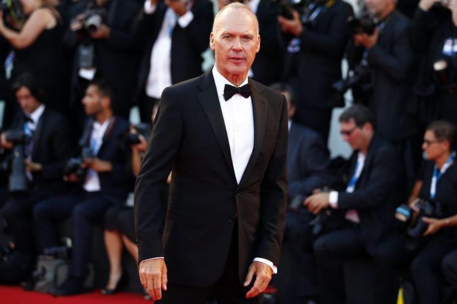 Michael Keaton sur le tapis rouge de Birdman...
