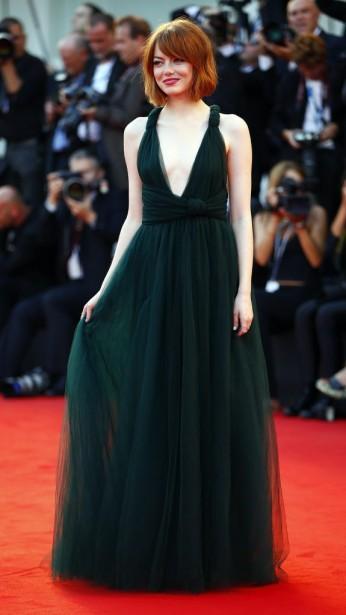 Jour 1 - Mercredi 27 août : Emma Stone (Photo: Reuters)