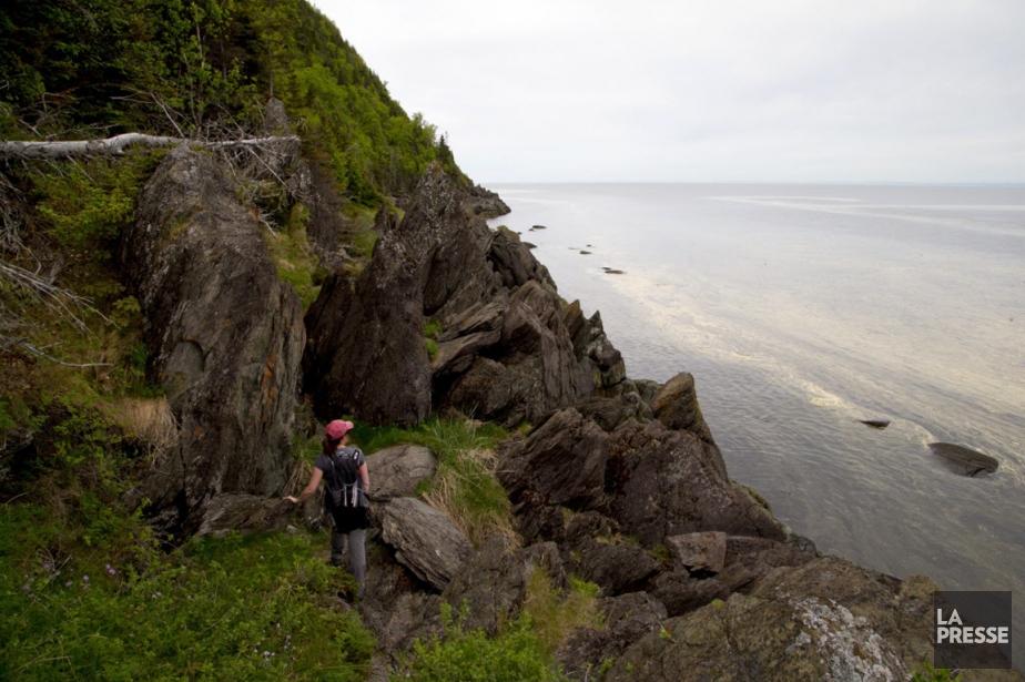 En randonnée, la dépense énergétique peut être particulièrement... (PHOTO ALAIN ROBERGE, LA PRESSE)