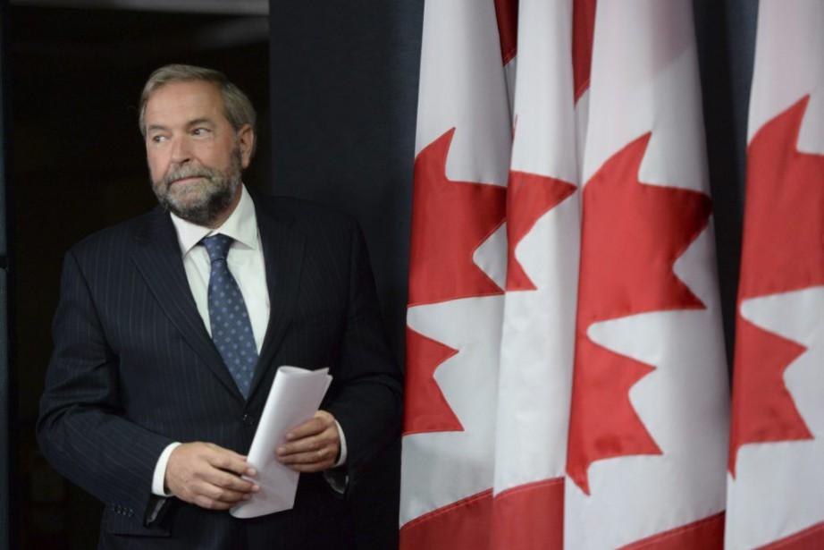 Le chef du NPD Thomas Mulcair... (PHOTO ARCHIVES LA PRESSE CANADIENNE)
