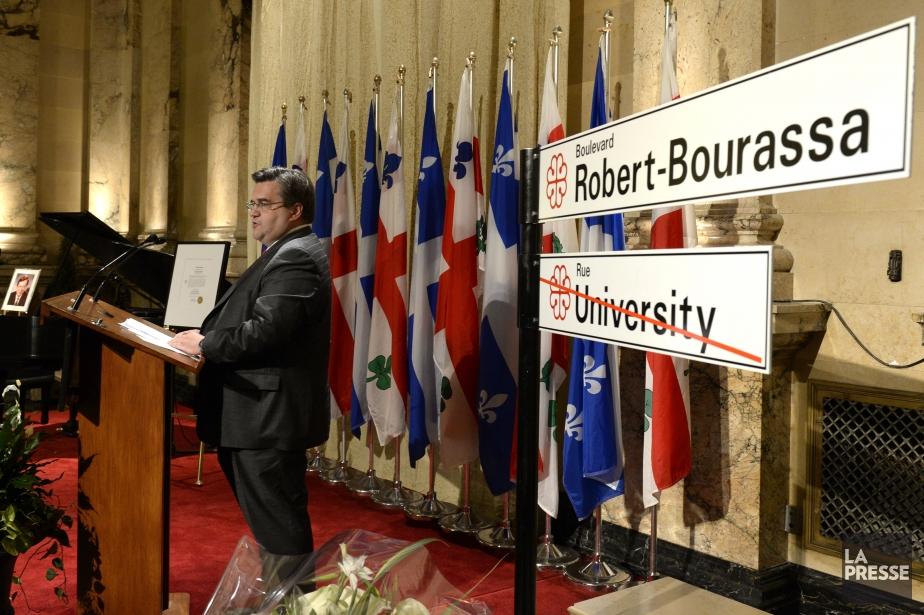 La rue University changera de nom à partir... (Photo Bernard Brault, La Presse)