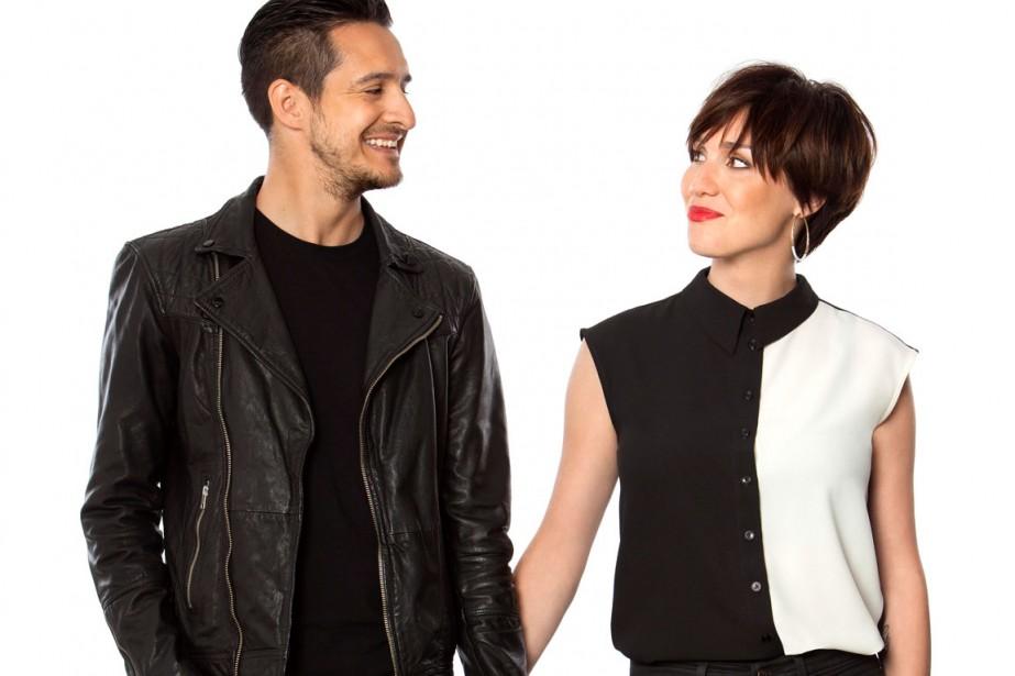 Sébastien Diaz et Bianca Gervais animeront le magazine... (Photo: fournie par Télé-Québec)
