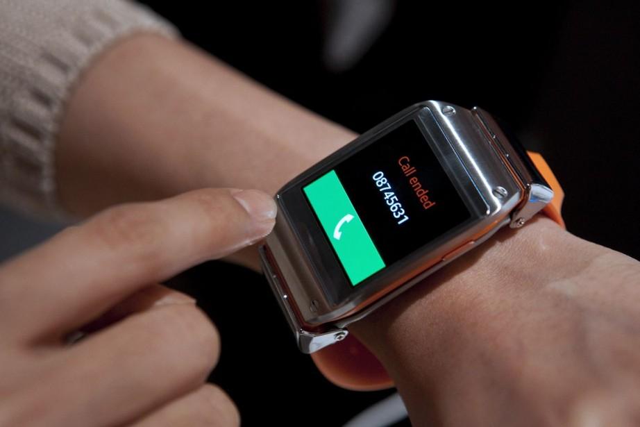 Samsung, qui avait lancé avant l'été sa montre... (Photo Krisztian Bocsi, Archives Bloomberg)