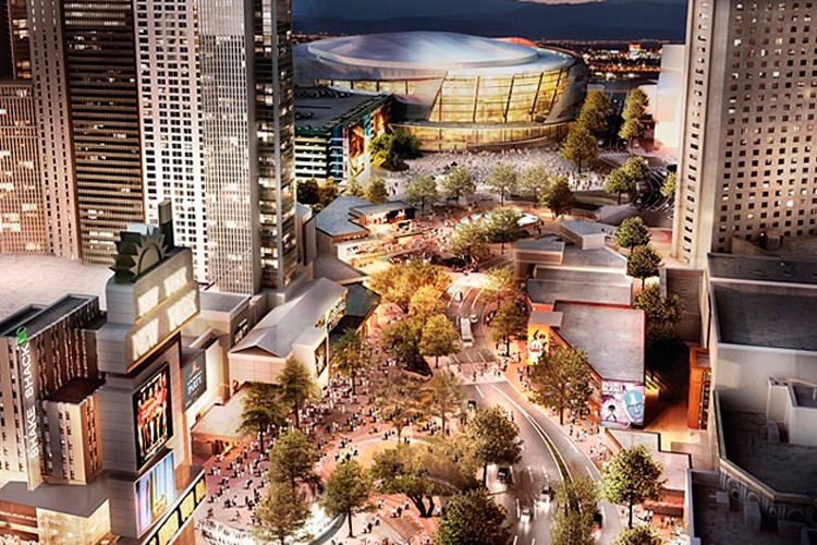 Un aperçu du projet de nouvel amphithéâtre situé... (Image Icon Venue Group)