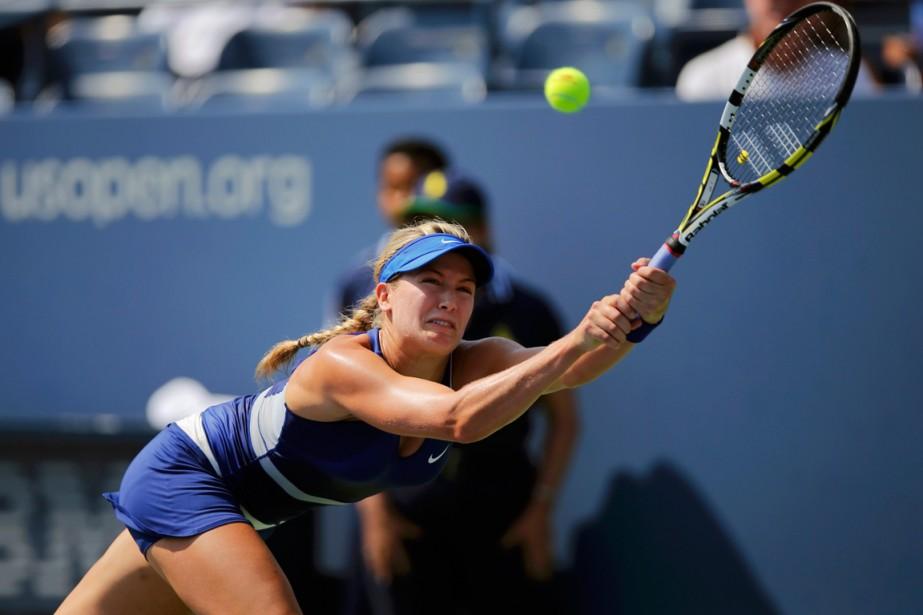 Eugenie Bouchard disputera le dernier match de la... (Photo Eduardo Munoz, Reuters)