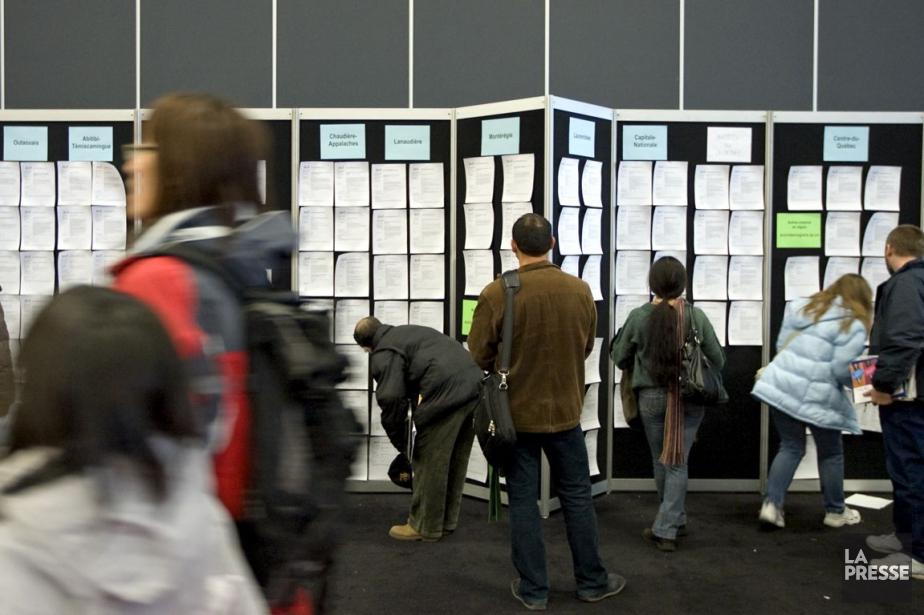 Le département du Travaila recensé 298000 demandes d'allocations... (PHOTO ALAIN ROBERGE, ARCHIVES LA PRESSE)