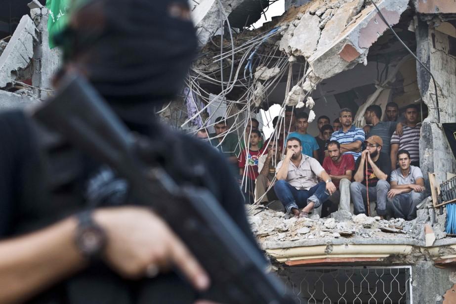 Gaza revient à la vie avec 1800 orphelins... (PHOTO ROBERTO SCHMIDT, AFP)