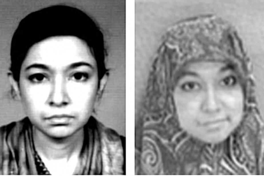 Comment la Dre Afia Siddiqui est-elle devenue la... (PHOTOS ARCHIVES AFP/FBI)