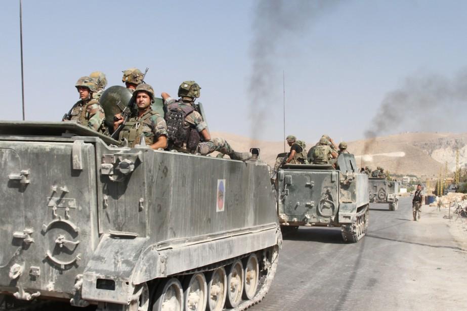 Des renforts ont été dépêchés dans les environs... (PHOTO AFP/STR)