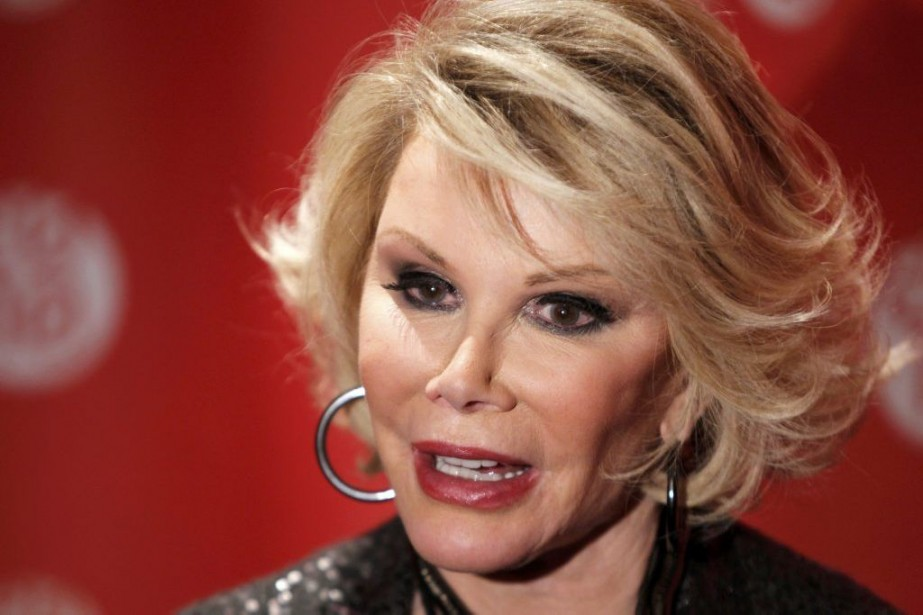 Joan Rivers en 2010.... (Photo: archives Reuters)