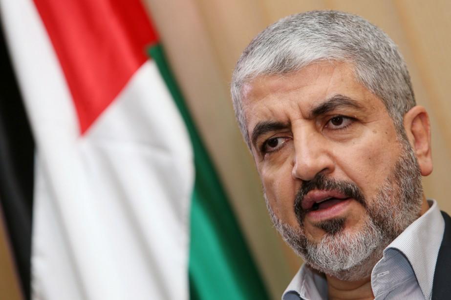 Le chef en exil du Hamal, Khaled Mechaal.... (PHOTO KARIM JAAFAR, ARCHIVES AFP/AL-WATAN DOHA)