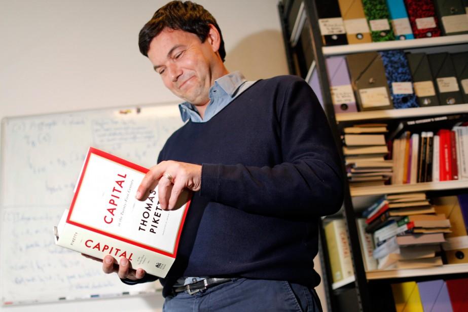 Thomas Piketty... (Photo Charles Platiau, archives Reuters)