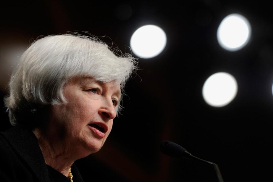 À la banque centrale américaine, Janet Yellen, qui... (Photo Susan Walsh, archives Associated Press)