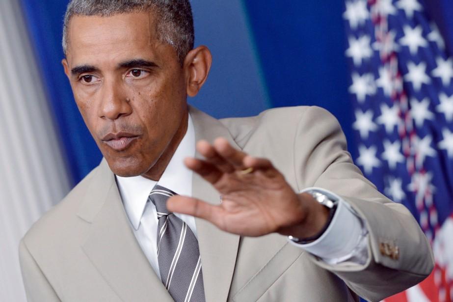 Le président américain Barack Obama a exclu des... (PHOTO MANDEL NGAN, AGENCE FRANCE-PRESSE)