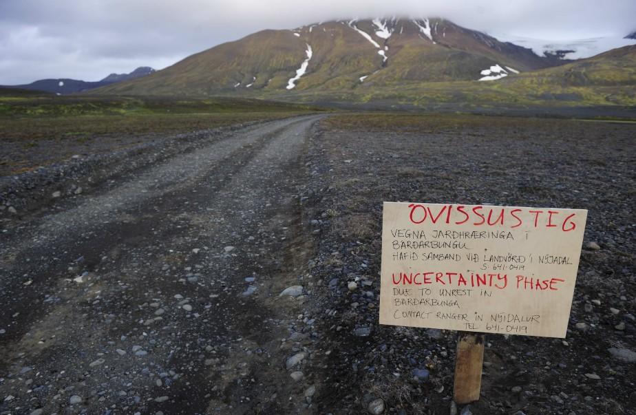 Le volcan Bardarbunga en Islande s'est officiellement réveillé... (Photo REUTERS)