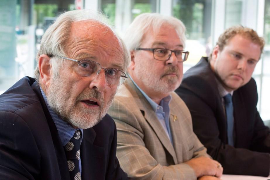 Thomas Walsh, l'avocat du conducteur de train Tom... (PHOTO LA PRESSE CANADIENNE)