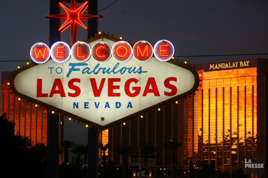 Le nouvel amphithéâtre de Las Vegas, qui sera... (PHOTO GABRIEL BOUYS, ARCHIVES AFP)