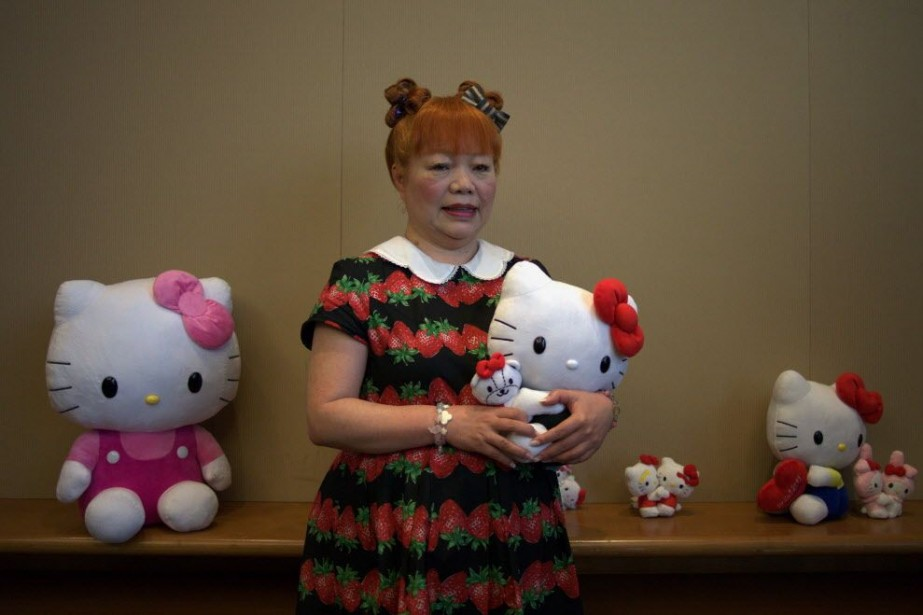 Yuko Yamaguchi, la troisième designer de la marque... (Photo Aaron Tam, AFP)