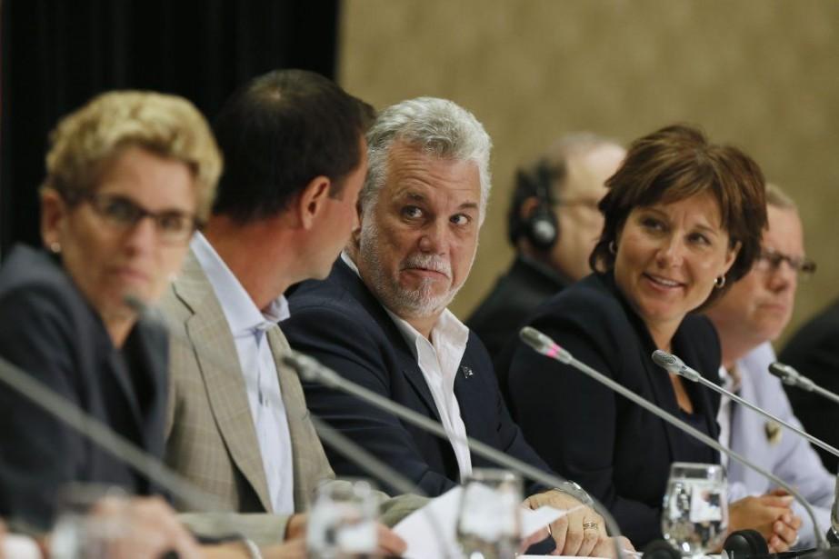 Le sommet du Québec visera à discuter des... (PHOTO CHRISTINNE MUSCHI, REUTERS)