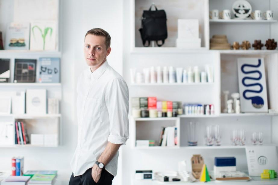 Avec Ibiki, Jonah Leslie a créé une boutique à son image. (Photo Edouard Plante-Fréchette, La Presse)