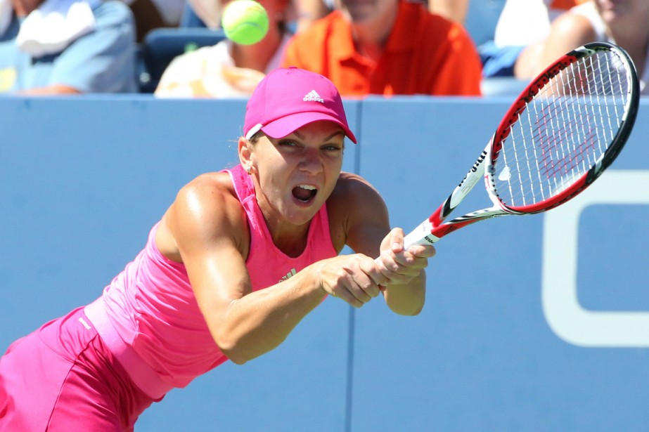 Simona Halep, la deuxième tête de série cette... (Photo Anthony Gruppuso, USA Today)