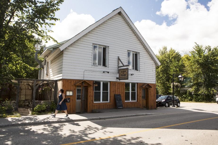 Le restaurant The Village House est à classer parmi les meilleures tables de Wakefield. (Photo Olivier Pontbriand, La Presse)