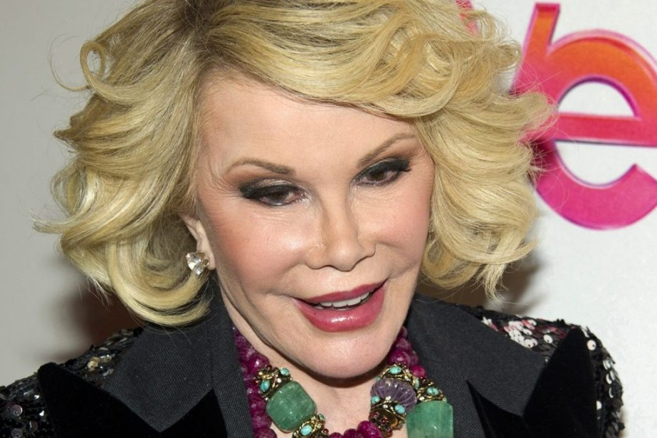 Joan Rivers en 2012.... (PHOTO CHARLES SYKES, ARCHIVES AP)