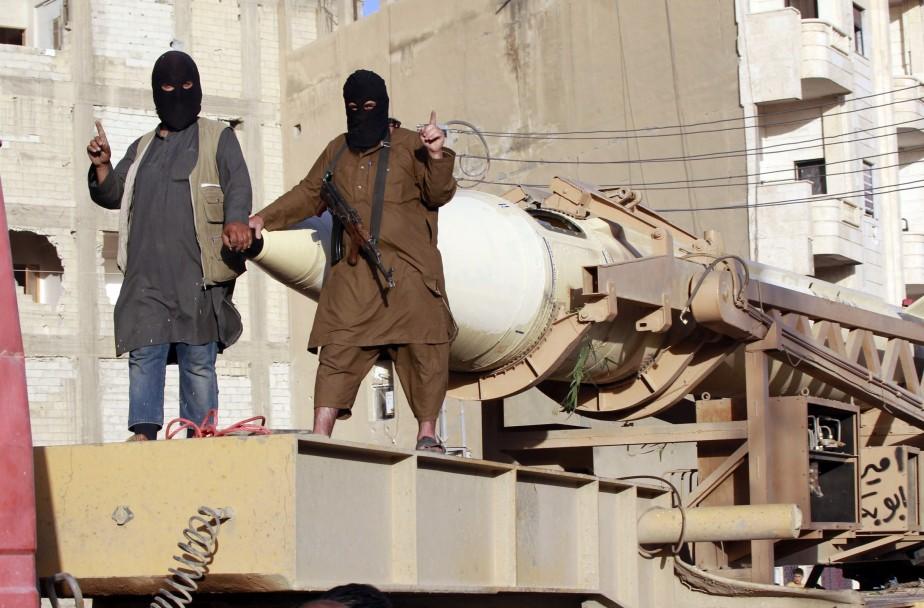 Les militants de l'État islamique en Irak et... (Photo archives Reuters)