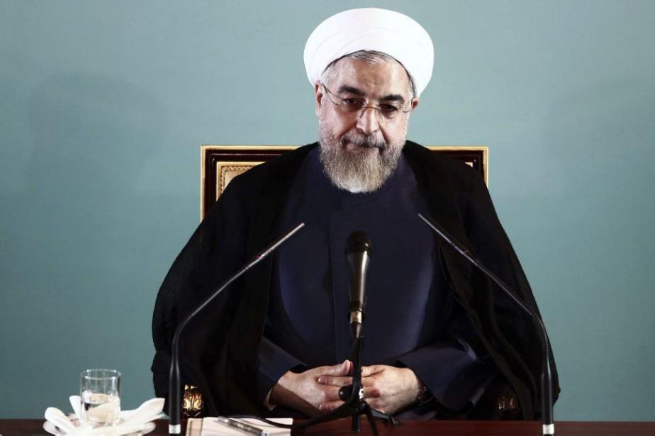 Le président iranien Hassan Rohani.... (PHOTO BEHROUZ MEHRI, AFP)