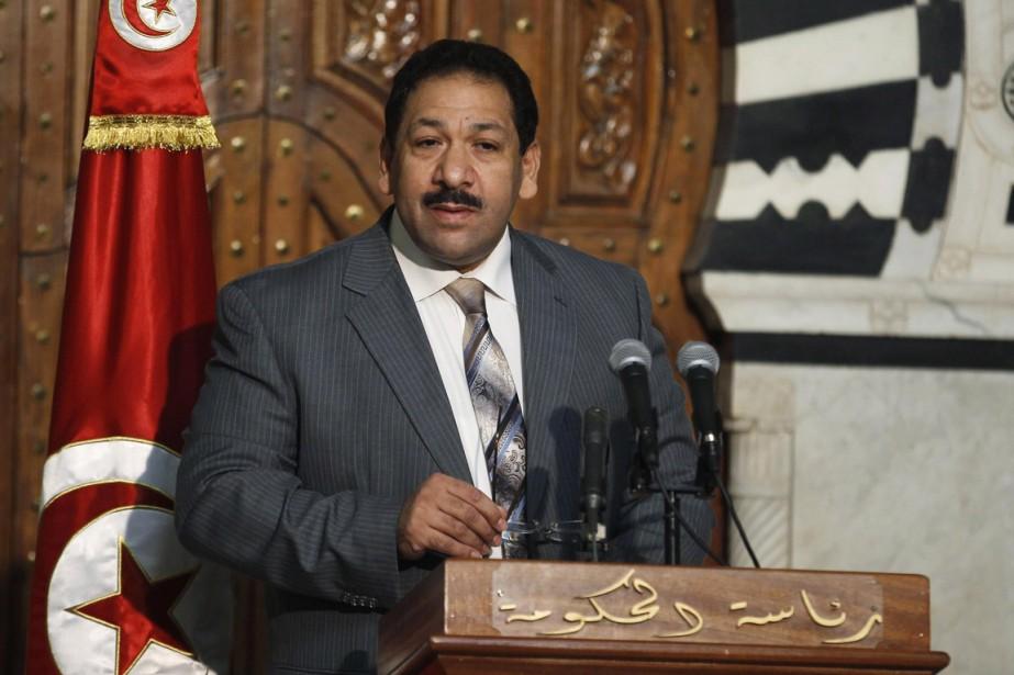 Le ministre tunisien de l'Intérieur Lotfi Ben Jeddou.... (Photo Zoubeir Souissi, Reuters)