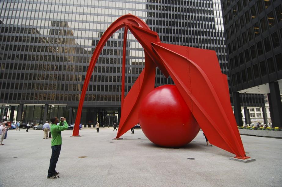 À Chicago, en septembre 2008. (Photo fournie par l'artiste)
