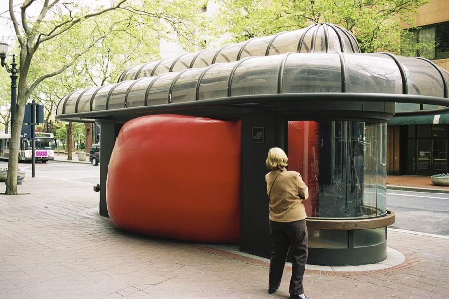 À Portland, aux États-Unis, en avril 2005. (Photo fournie par l'artiste)