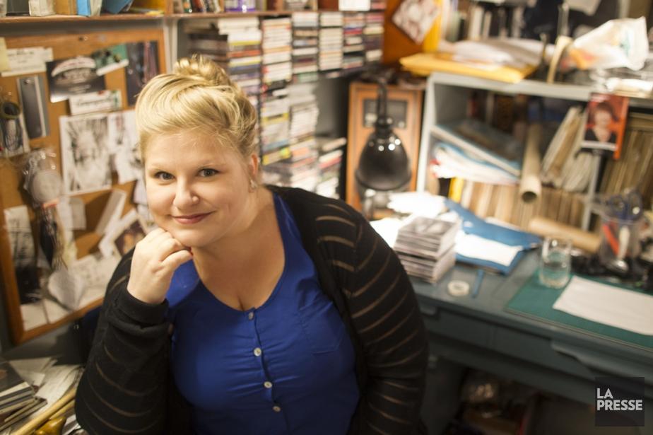 Sarah Bourdon a également démarré un projet musical... (PHOTO OLIVIER PONTBRIAND, LA PRESSE)