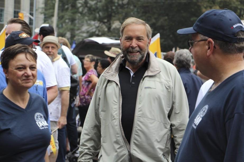 Le chef du Nouveau Parti démocratique (NPD), Thomas... (Photo Adam Miller, PC)