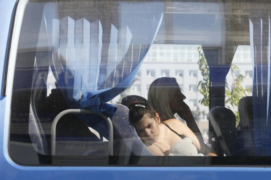 Le HCR estime toutefois que le nombre de... (PHOTO ILYA NAYMUSHIN, REUTERS)