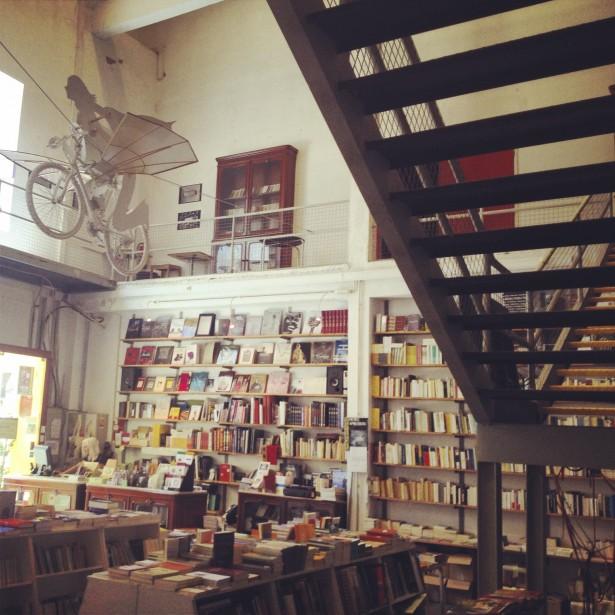 LX Factory réunit des artistes et des créatifs, architectes et graphistes. (Photo Émilie Côté, La Presse)