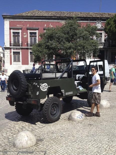 We Hate Tourism Tours organise une escapade dans Lisbonne destinée aux gens qui détestent les visites guidées traditionnelles en autobus. (Photo Émilie Côté, La Presse)