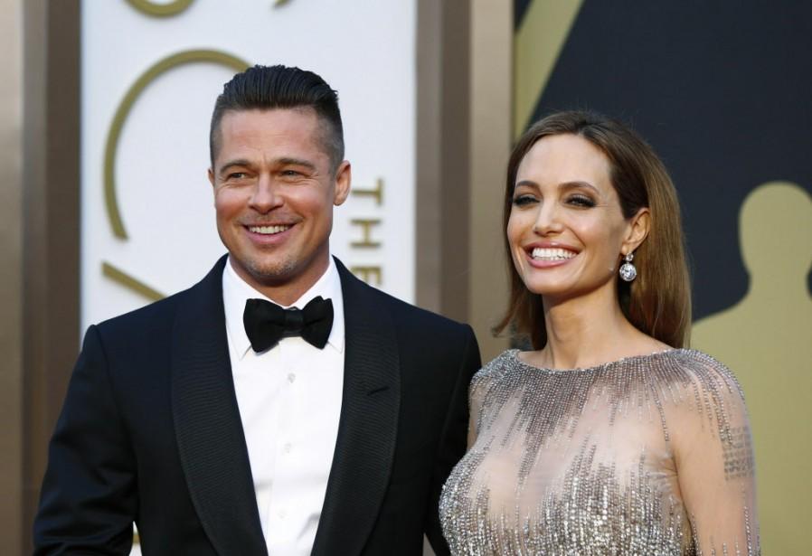Le mariage d'Angelina Jolie, 39 ans, et Brad... (Photo LUCAS JACKSON, AFP)