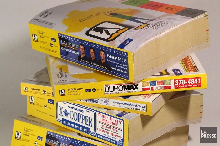 Yellow Média a vu ses profits et son... (Photo Archives La Presse)