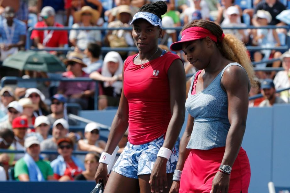 Venus et Serena Williams... (Photo Ray Stubblebine, Reuters)